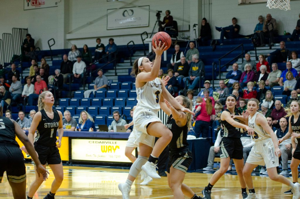 Lady Jackets' Offensive Assault Provides Win in G-MAC Opener