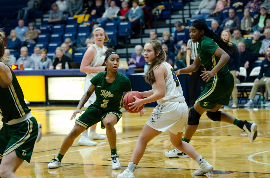 Chapman Leads Lady Jackets to Big Win Over Tiffin