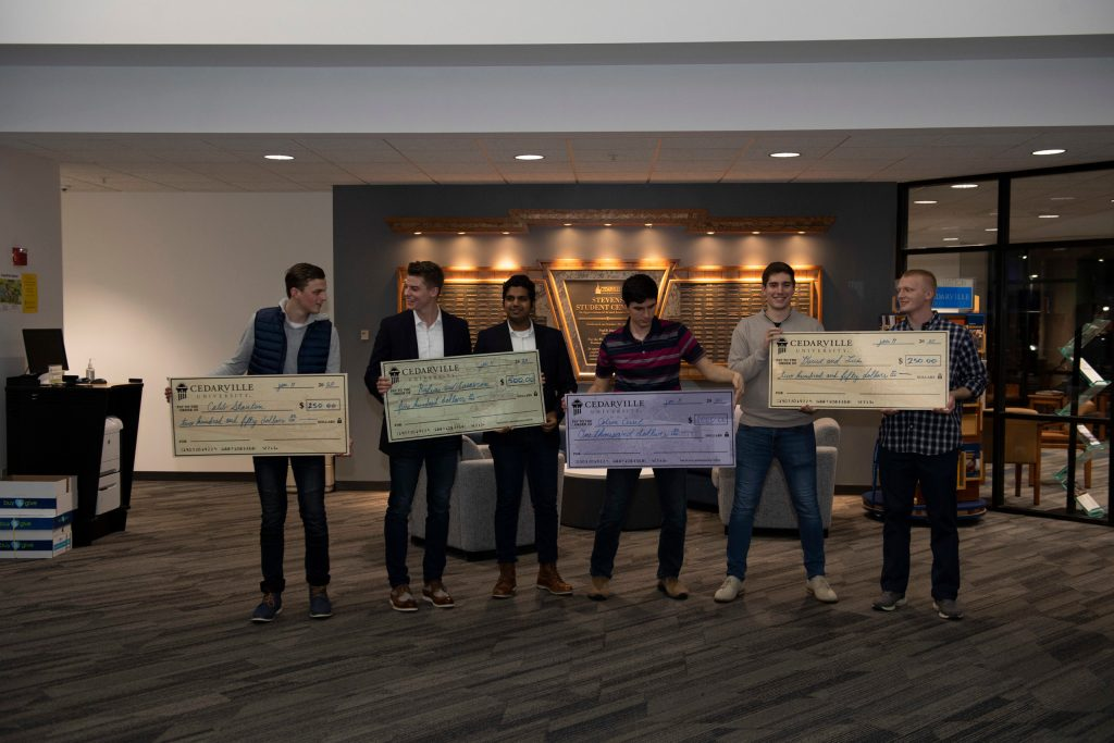 Students Win Cash for Business Ideas