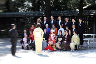 Traditional (colourful) wedding kimono