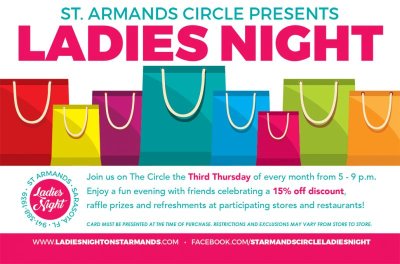 st armands circle ladies nite event