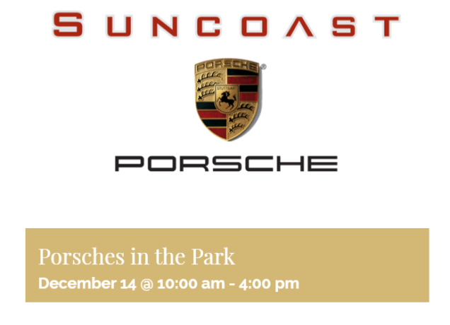 porsches in the park dec 14th