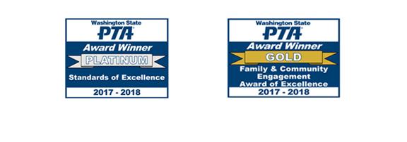 WSPTA award logos