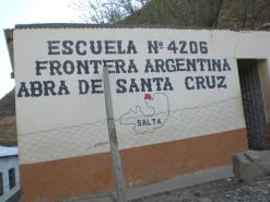 Escuela 4206 con mapa de Santa Victoria Oeste donde las escuelas de frontera 4206, 4347 y 4776 están ubicadas.