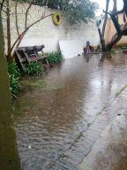 ANTES - Inundacion de patio