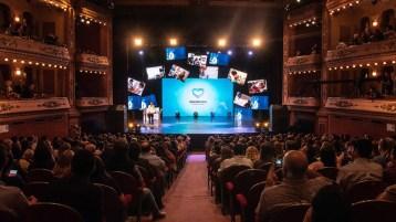 Gala de Premiación de los Abanderados 2018. en el Teatro Avenida