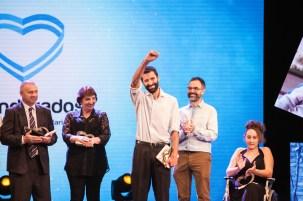 Abanderado del Año 2018: Pablo Castaño de SUMANDO ENERGÍAS
