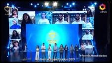 Gala de Premiación de los Abanderados 2019. en el Teatro Avenida