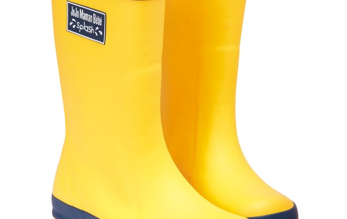 botas-goma-amarillas-de-niños