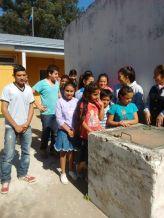 Pozo de agua de la escuela