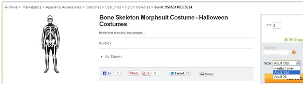 Costume Content Optimization Guidelines of Newegg.com