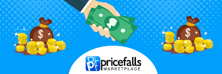 Sell on pricefalls