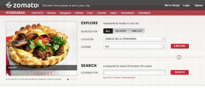 Zomato Clone Script: Facilitating online food ordering system