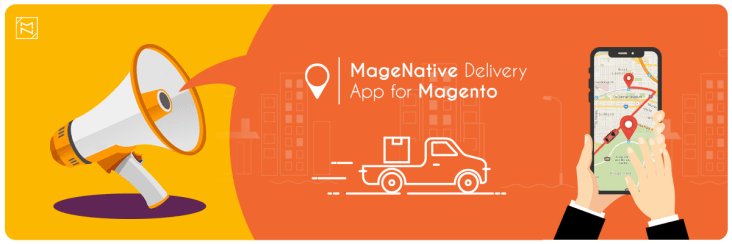 Delivery and Shipment Tracking mobile app for Magento 2