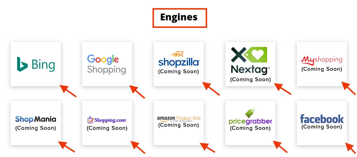 increase eCommerce sales viz comparison shopping engines