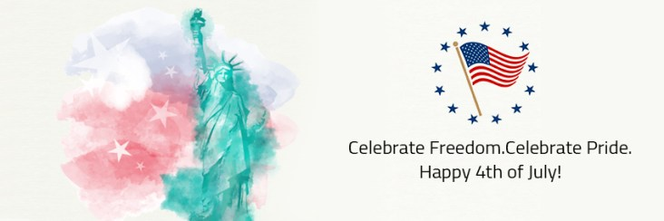 celebrate freedom celebrate pride independence day USA