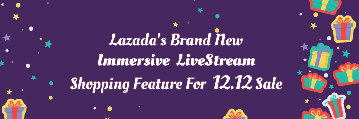Lazada's Brand New Immersive LiveStream Shopping Feature