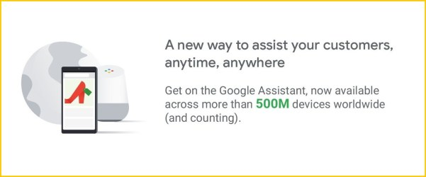google shopping action voice search