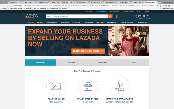 Lazada Seller Account Sign Up - SET UP your SHOP in Minutes