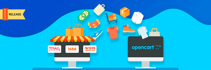 Cedcommerce's TaobaoTmall 1688 product importer for opencart extensions are now live