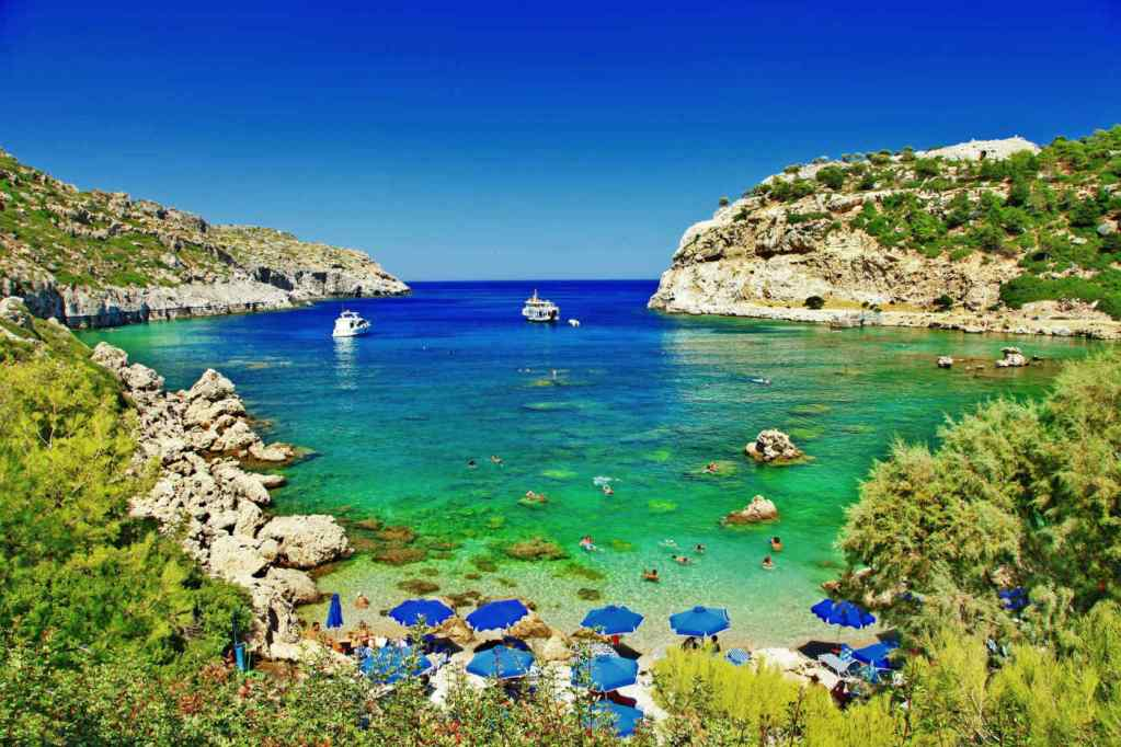 Anthony Quinn Bay, Rhodes – Greece – Sceptre