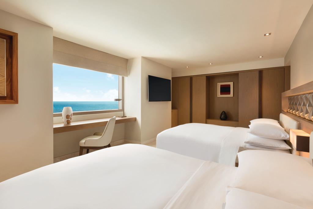 Hyatt-Ziva-Cancun-Club-Two-Bedroom-Ocean-Front-Suite-Bedroom-2