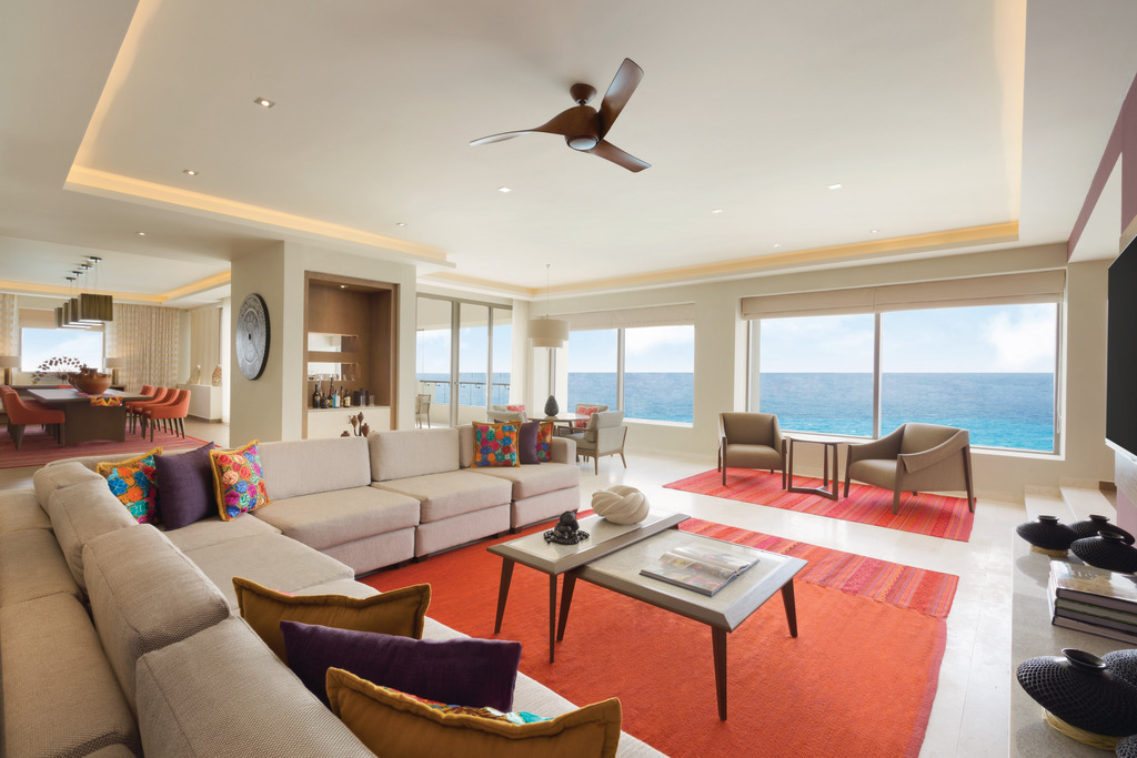 Hyatt-Ziva-Cancun-Presidential-Suite-Living-Area
