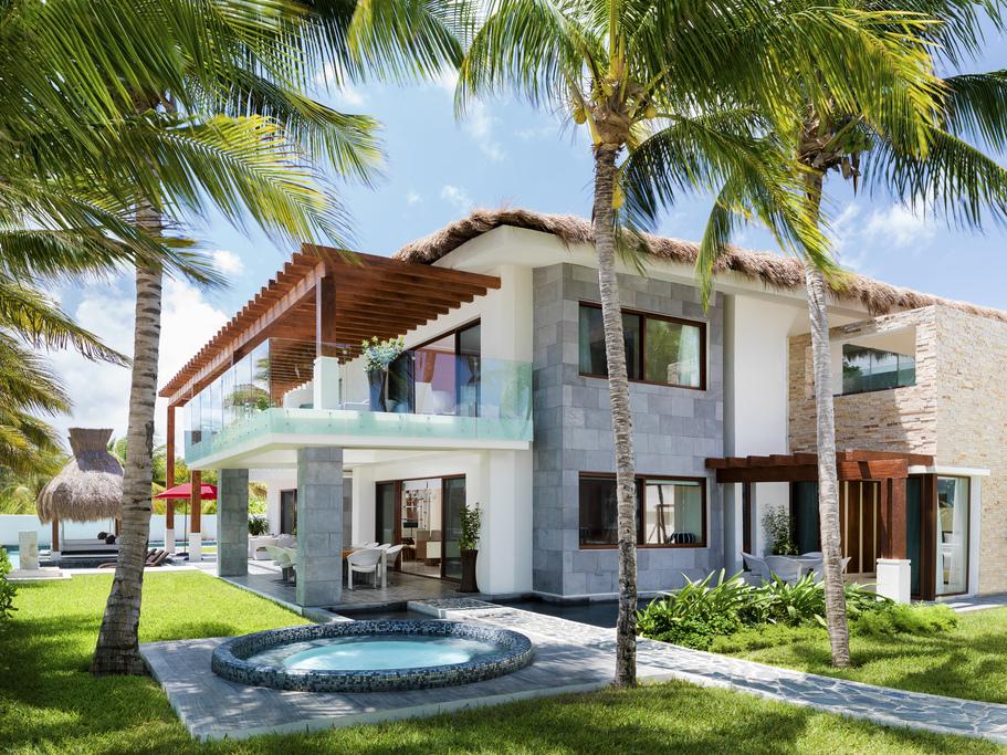 Azul Villa Esmeralda Back-Exterior