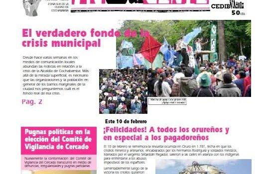 inSURgente, febrero 2008