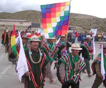 Declaración del encuentro de pueblos indígenas originarios campesinos y organizaciones sociales de Bolivia