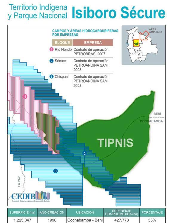 Pablo Villegas de CEDIB habla sobre ofensiva contra TIPNIS y Áreas Protegidas Bolivia