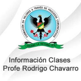 Actividades Prof. Rodrigo Chavarro