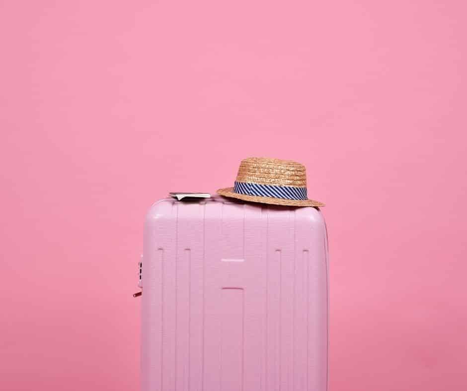 Valises pour les vacances