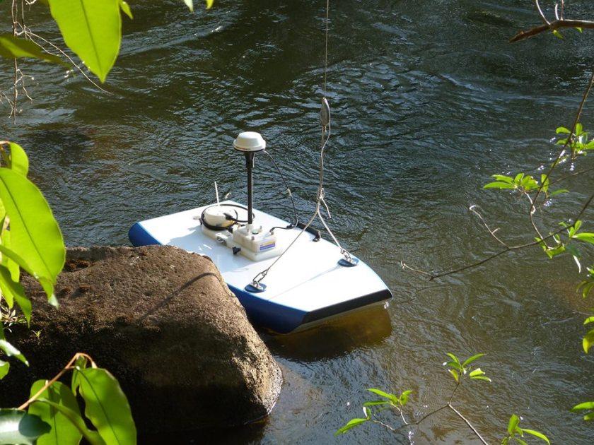 Batimetrías y Aforos con River Surveyor y Sistema RTK