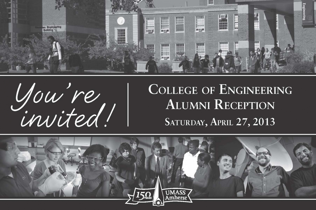 You Re Invited To The College Of Engineering Alumni Reception