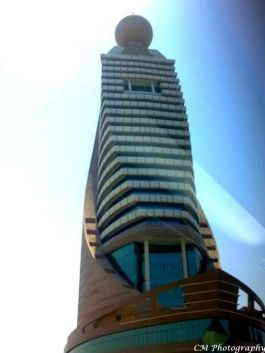 The Etisalat Building -Dubai Cellphone nor Land-line Service Provider Offices do not look like this in my City...