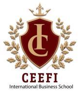 Escudo de la escuela CEFI INTERNATIONAL BUSINESS SCHOOL