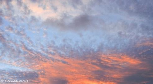 Sunset 31 Dec 2014