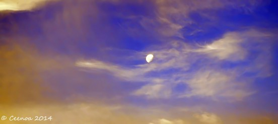 Evening Sky (Auto-Enhanced)