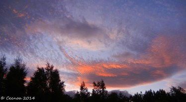 Last Sunset of 2014