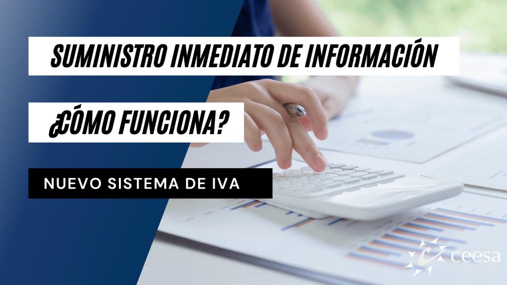 Suministro inmediato de información: ¿Cómo funciona?