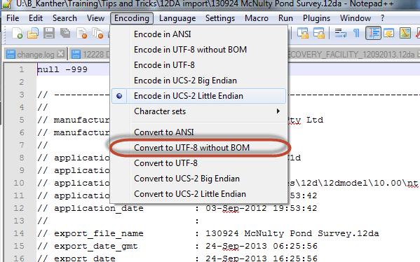 how to open 12da file