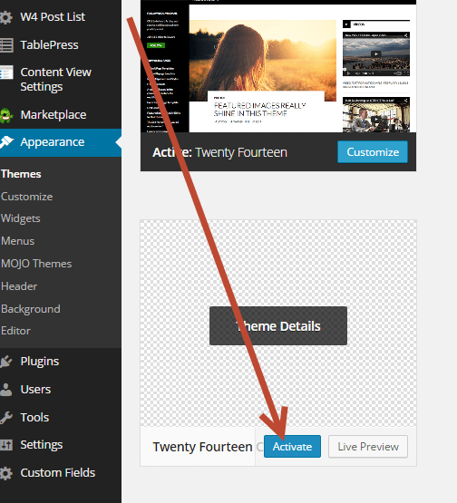 Twenty Fourteen Child Theme – How to actually add full width to Post
