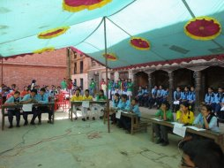 Inter school QUIZ competition in SRHR