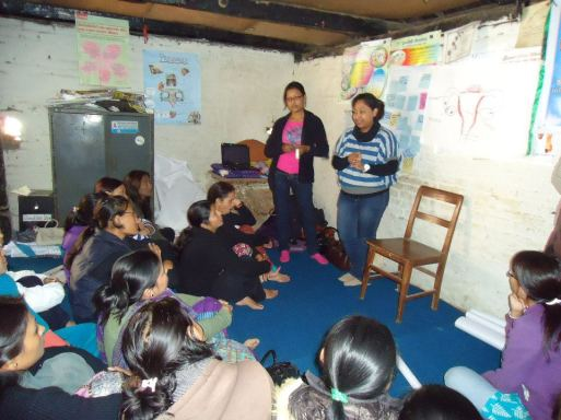 Session on Menstruation