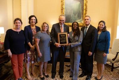 Senator Schumer Award Group - Office Photo