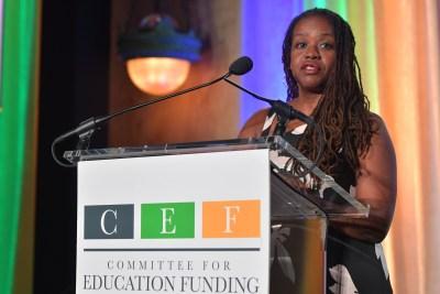 CEF Treasurer Valerie C. Williams
