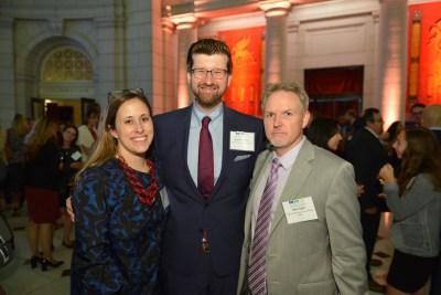 Patti Ross (Rep. Pelosi), Stephen Parker (NGA), Marc Egan (NEA)