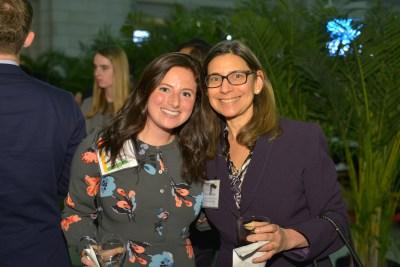 CEF Board Member Ally Bernstein and Hilary Goldmann