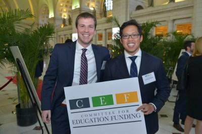 CEF Staffers Owen Reilly and Jonathan Widjaja